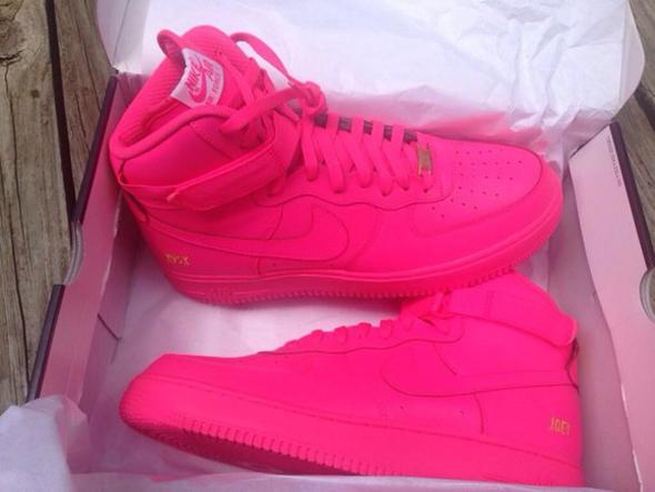 nike Air force one in pink (Schuhe)