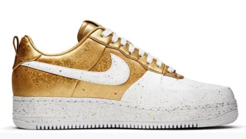 Nike Air Force Gold White