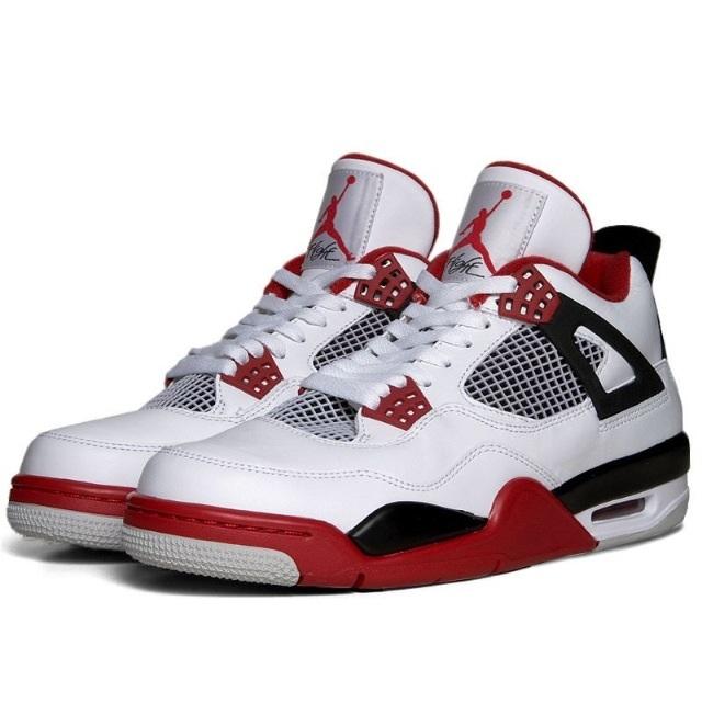 Jordan Weiß Rot