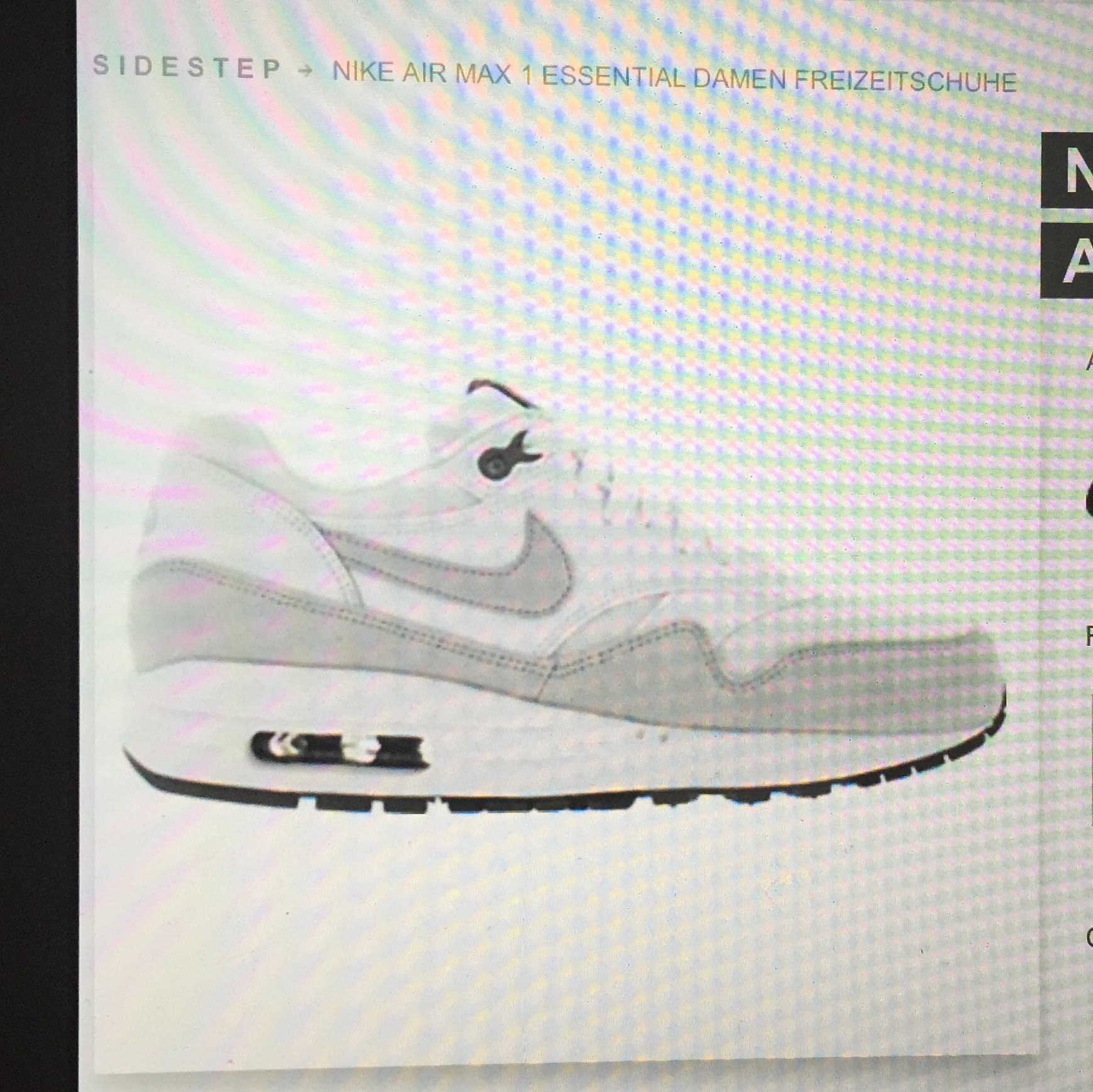 Nike air Max 1 Essentail, wie fallen sie aus? (Schuhe, Größe)
