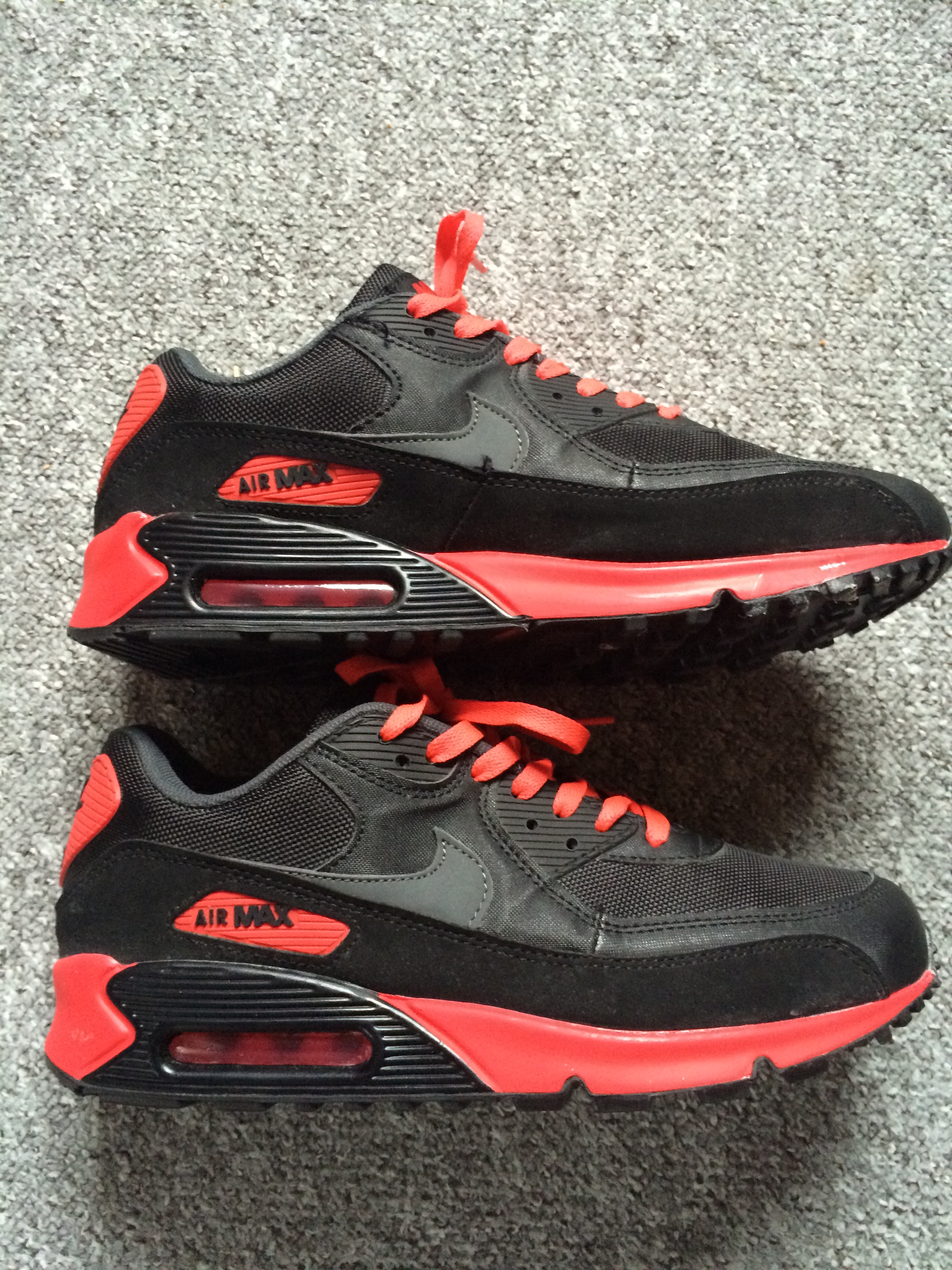 e48ccc24783 nike air max 90 rot fake vs real