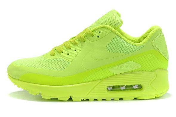 neon green - (Nike, airmax, Air max 90)