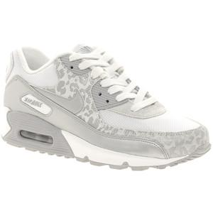 Nike Air Max Leopardenmuster Weiß