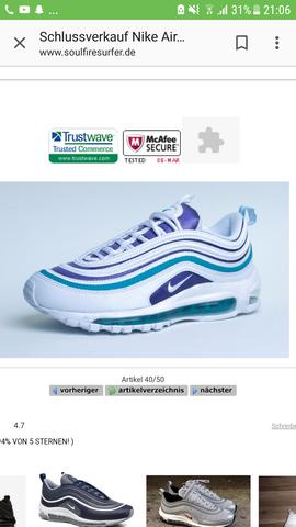Nike air max 97 south beach? (Schuhe, Fashion, Sneaker)