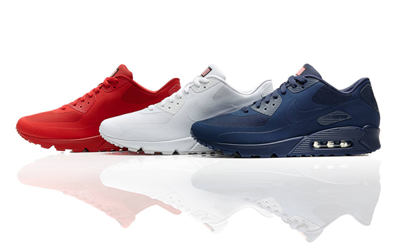 air max 90 with american flag