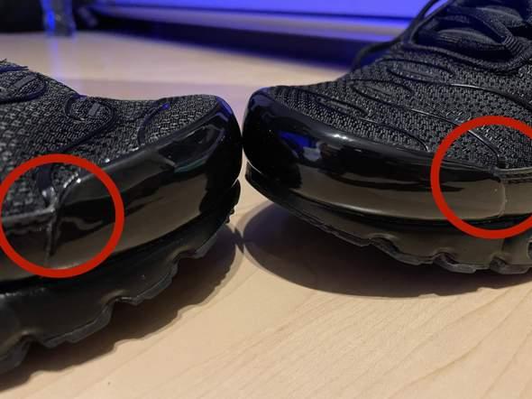 Nike Air max Plus Produktionsfehler?