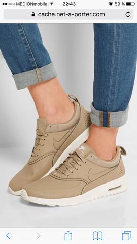 Nike Air Max Thea Premium in beige - (Schuhe, Nike)