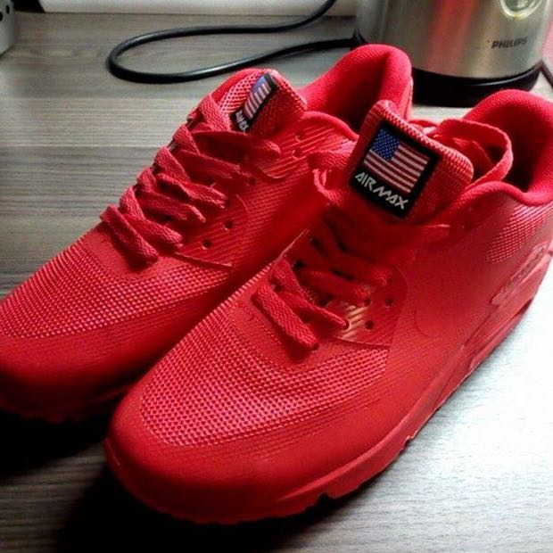 nike airmax hyperfuse rot schuhe nike air max red. Black Bedroom Furniture Sets. Home Design Ideas