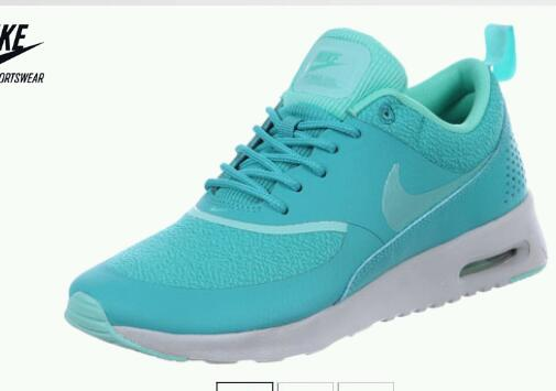 Nike Air Max Thea Türkis Damen