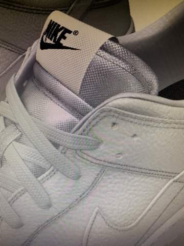 Nike Dunk Low By you Stoßband glänzt?