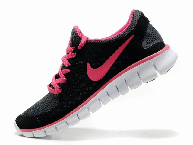 Nike Free Run Schwarz Pink