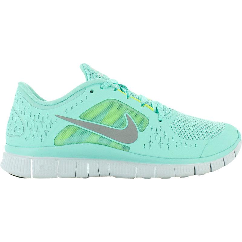 Nike Free Damen Türkis Weiß
