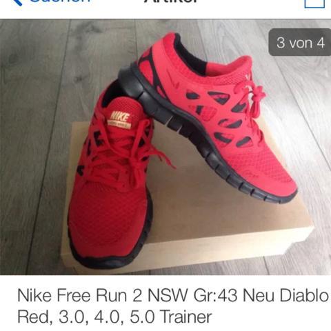 Nike Free Run 2 Rot wo finden?
