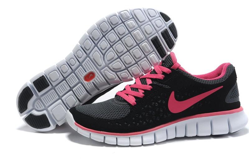 Nike Free Run Damen Schwarz Pink