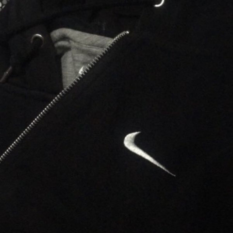 Nike Hoodie black - (Mode, Nike, Marken.)