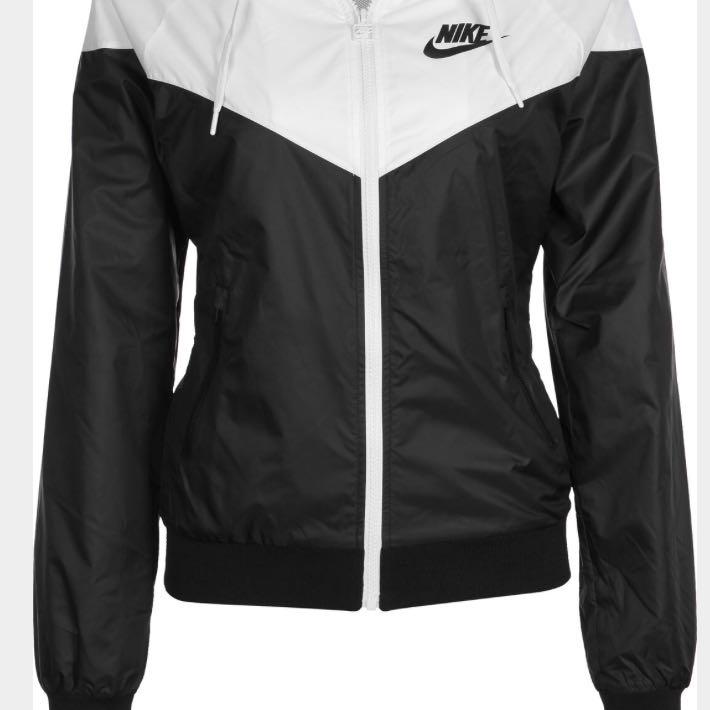 Nike Jacke weiß schwarz windbreaker wo finden?