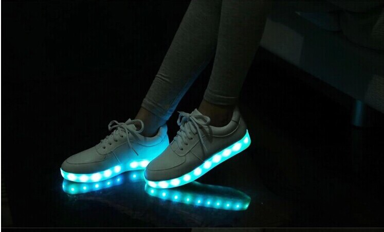 Popular Nike Led Stimulation WhiteBlue