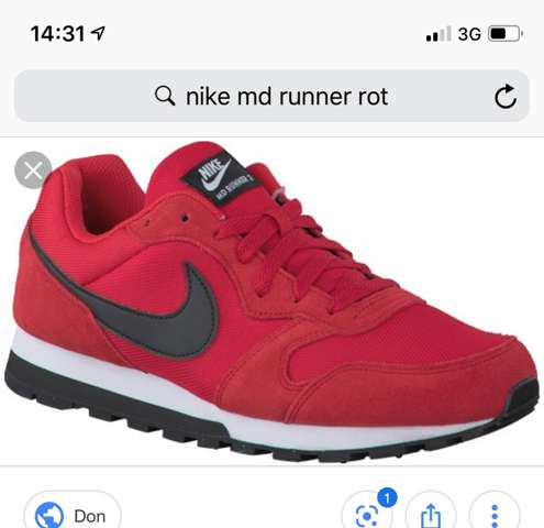 Nike md runner rot weiß wo kaufen wo (Bild)?