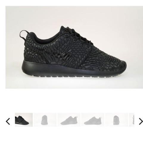 Nike Roshe One Schuhe in weiß