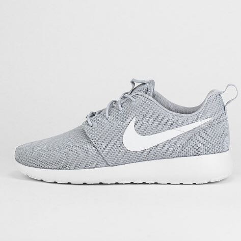 Nike Roshe Run Grey Madchen Jungs Mode