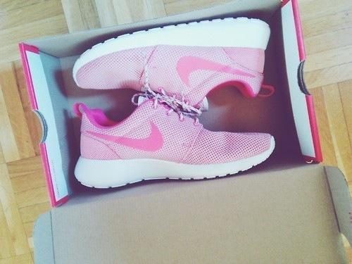 Nike Roshe Run Rosa Damen