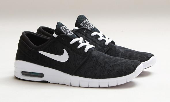 Nike Janoski Max Schwarz