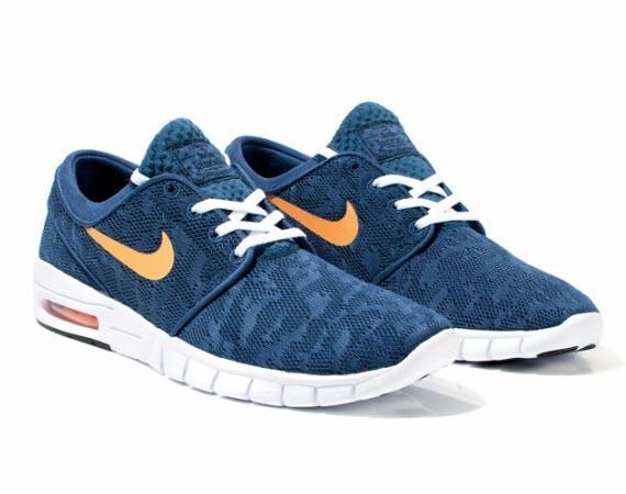Nike Janoski Max Blau Weiß