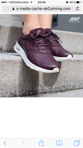 Bordeaux  - (Schuhe, Nike)