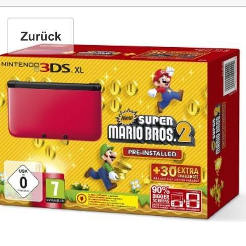 Nintendo 3Ds - (Spiele, Nintendo, Mario)