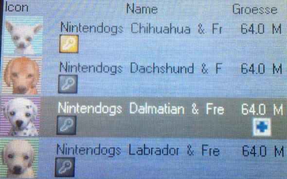 Die Schlüsselchen unter den Spielen - (Nintendo, Nintendo-ds, Speicherkarte)