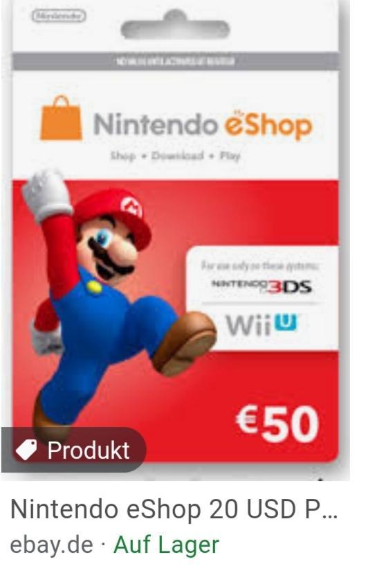 Nintendo guthaben karte? (Spiele und Gaming)