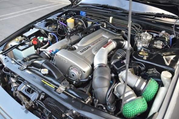 Nissan Skyline, wie heißen diese Teile im Motorraum?