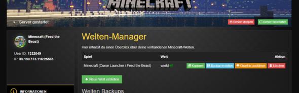 Nitrado FTB Lite Server Funktioniert Nicht Computer Spiele Und - Minecraft server erstellen nitrado