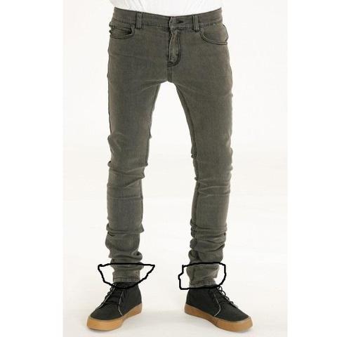 Jeans hose unten enger nahen