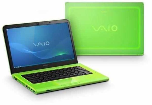 Sony Vaio VPCCA 1S1E Notebook in Grün - (Computer, Notebook, Sony)