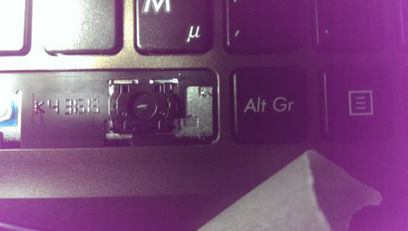 Bild 1 - (Notebook, Tastatur, Medion)