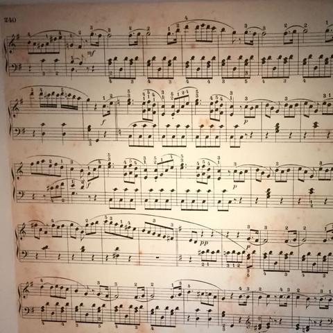Teil 1 - (Musik, Noten, Klavier)