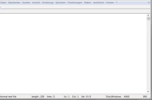 Aufgehängtes Notepad++ - (Computer, PC, Internet)
