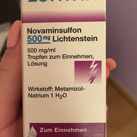 Mg als 600 500 novaminsulfon stärker ibuprofen Novaminsulfon 500