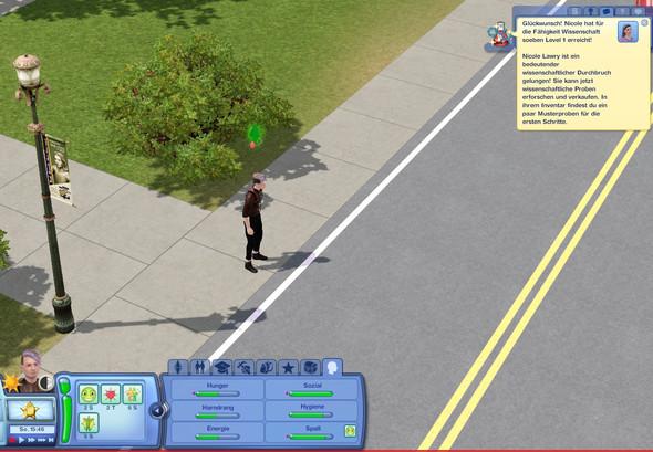 Die Benachrichtigungen von allen Sims in der Stadt sind zu sehen  - (Sims 3, Mods, Hack)