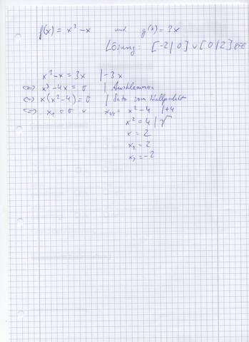 Mathe - (Mathematik, Nullstellen)