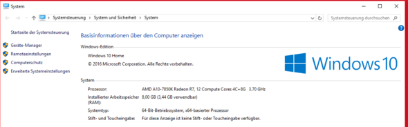 Informationen - (PC, Ram problem)
