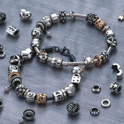 Beispiel Armband mit Beads. - (Schmuck, Pandora, Beads)