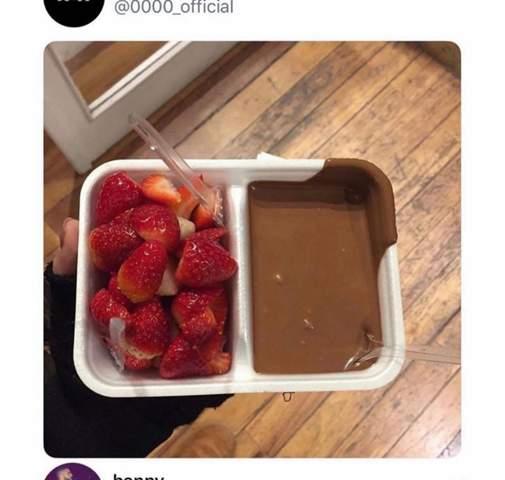 Nur einfache Schokolade?