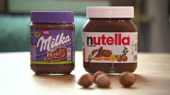 Nutella Brotaufstrich oder Milka Brotaufstrich? Was schmeckt euch besser?