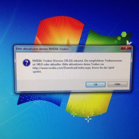 Das ist das Problem - (PC, Treiber, Nvidia)