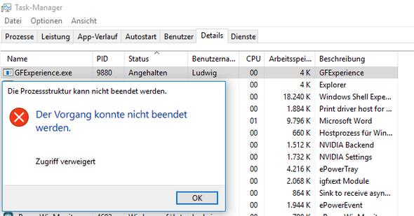 Fehler - (Computer, Nvidia)