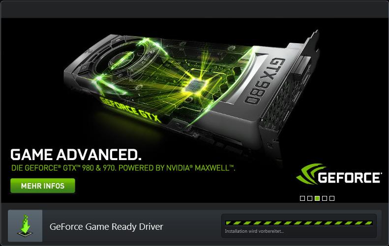NVIDIA Geforce Treiber hängt?! (Grafikkarte, Update ...