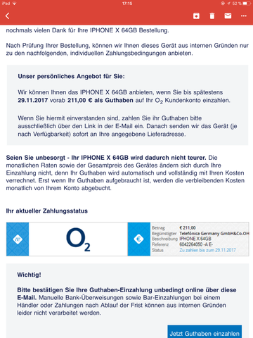O2 Vertrag Dringende Hilfe Handy Smartphone Handyvertrag