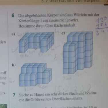 Aufgabe - (Mathe, Würfel, Oberflächeninhalt)